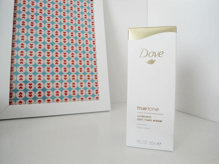 *Cor uniforme para as axilas com Dove True Tone!