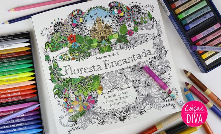 Tudo sobre livros de colorir + Jardim Secreto
