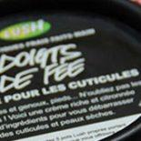 Lemony Flutter Cuticle Butter, da Lush