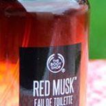 Red Musk, um dos novos perfumes da The Body Shop