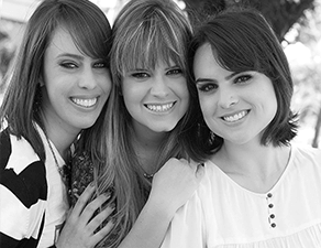 Sabrina, Marina e Thaís