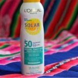 Protetor Solar Aerosol Toque Seco Solar Expertise L'Oreal FPS 50