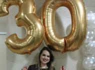 Fazendo a festa: meu aniversário de 30 anos!