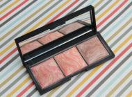 Trio de blushes Luminous Face, Ale de Souza para Océane