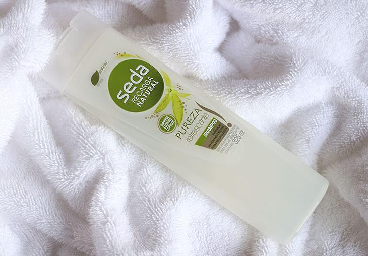 Testei: shampoo Seda Pureza Refrescante