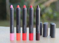 Velvetease: os novos batons em lápis da MAC