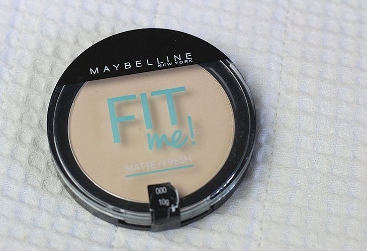 Pó translúcido Fit Me! Matte + Fresh Maybelline