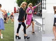 O que está acontecendo com os sapatos?
