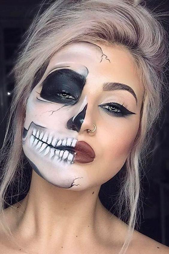 Well-known Maquiagem Halloween: tutoriais e inspirações lindas! NT97