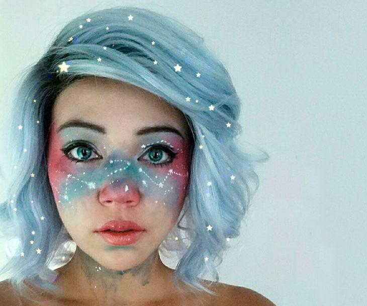 8ee0dae3c Maquiagem de Halloween  tutoriais e inspirações lindas!