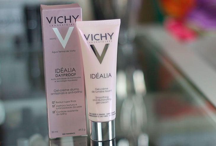 Antissinais para pele oleosa: Idéalia Dayproof Vichy