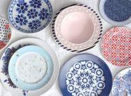 Decoração: onde comprar pratos coloridos avulsos
