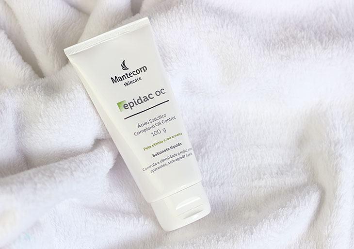 Sabonete para pele oleosa: Epidac OC da Mantecorp