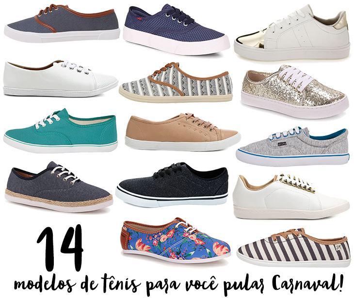270f7316371 Tênis  o melhor calçado para o Carnaval!