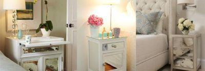 Um desejo: móveis espelhados na decoração!