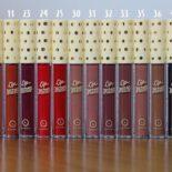 Amostras de cor dos batons Lip Matte Latika: parte I (os coloridos!)