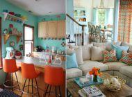 Mais cor, por favor: decoração coloridíssima!