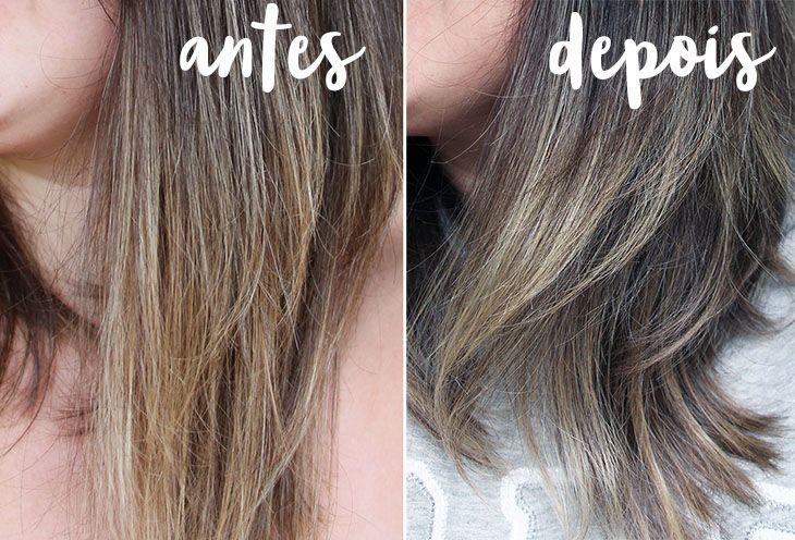 desamarelar o cabelo