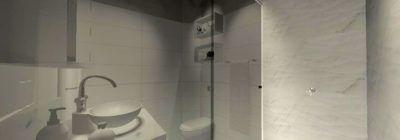 Banheiro pequeno: 40 soluções lindas para aproveitar o espaço