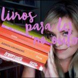 Livros para ler no outono: minhas sugestões de leitura