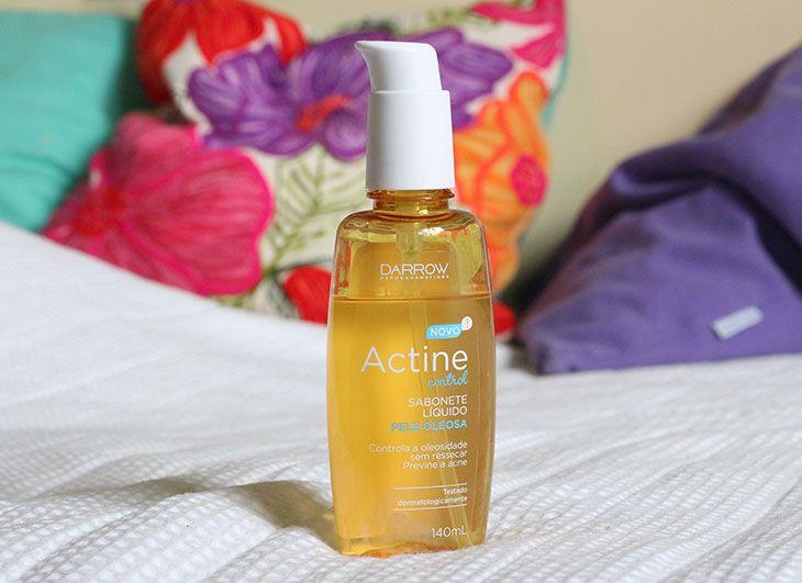 Resenha: novo Sabonete Líquido Actine Control para peles oleosas
