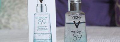 Testei na pele oleosa: Minéral 89 da Vichy