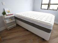 * Detalhes do apartamentinho: já tenho cama e ela é sensacional!