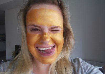 Máscara dourada: testei a Caviar Gold da Dermage