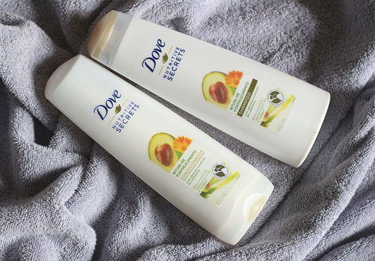 Resenha: Shampoo e condicionador Ritual de Fortalecimento Dove