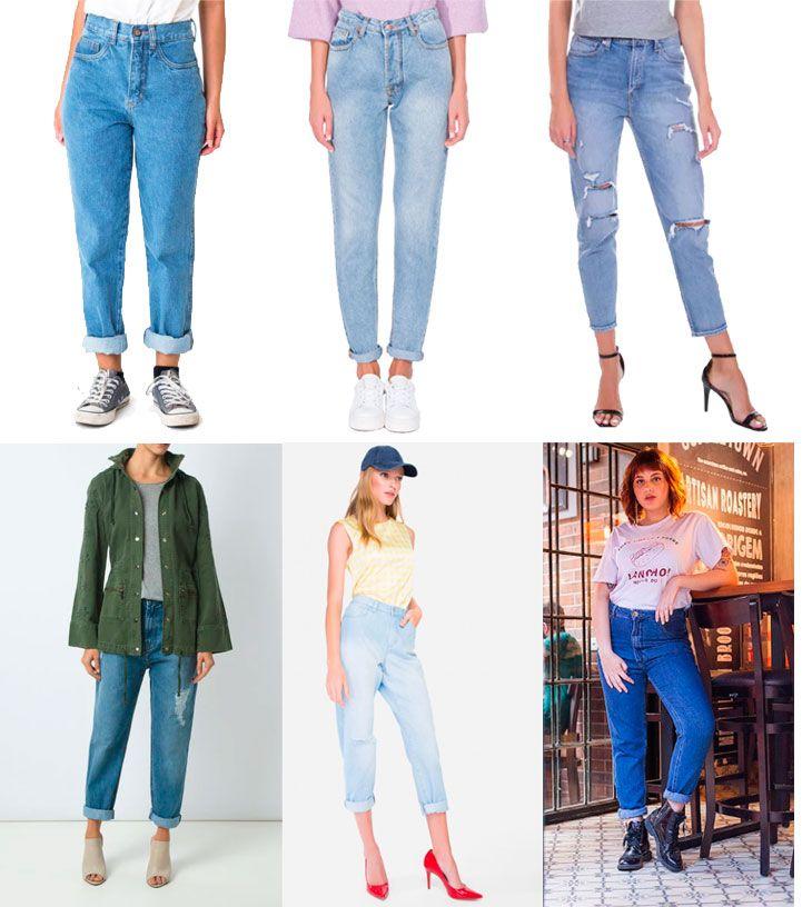 906e121503fd5 Veja onde comprar e como usar a calça mom jeans